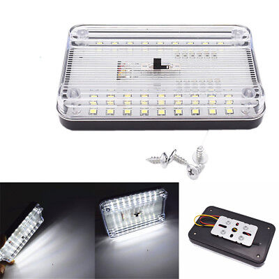 Universal Dome - Universal 36 LED Car Ceiling Dome Lamp Reading Trunk Interior Light White 12V