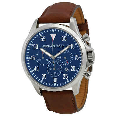Michael Kors Gage Chronograph Blue Dial Men's Watch MK8362