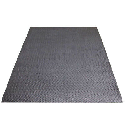 Black Large Soft Foam Floor Mat Playmat Yoga Gym Exercise Gymnastic Fitness Mat