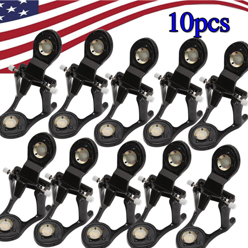 10pcs Black Dental Magnetic Articulator for Lab Model with Incisal Pins Small