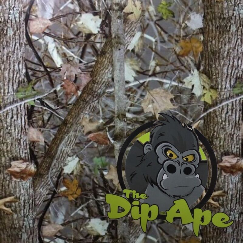 MID FALL MINI CAMOUFLAGE CAMO HYDROGRAPHIC WATER TRANSFER HYDRO FILM DIP APE