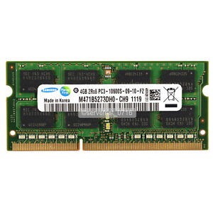 New Samsung  4GB PC3-10600S DDR3-1333 1333Mhz 240pin So-dimm memory Ram upgrade