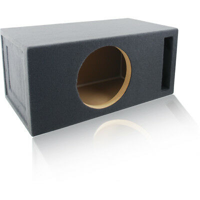 "Vented Woofer - 2.0 FT³ @ 32Hz PORTED/VENTED CAR SUBWOOFER BOX MDF ENCLOSURE FOR 12"" SUB WOOFER"