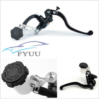 CNC MOTORCYCLE HYDRAULIC BRAKE CLUTCH LEVER MASTER CYLINDER RIGHT PUMP