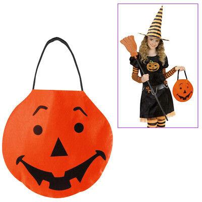 Halloween Süßigkeiten (HALLOWEEN TASCHE KINDER Betteltasche Süßigkeiten Beutel  Kostüm Zubehör #  7756)