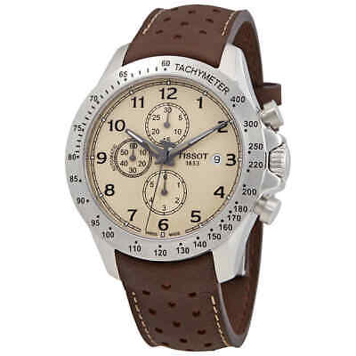 Tissot V8 Chronograph Automatic Cream Dial Men's Watch T106.427.16.262.00
