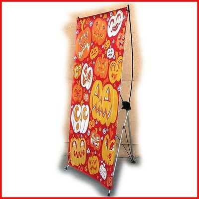 X Banner Stand W32xh68 Free Printing Trade Show Display X220