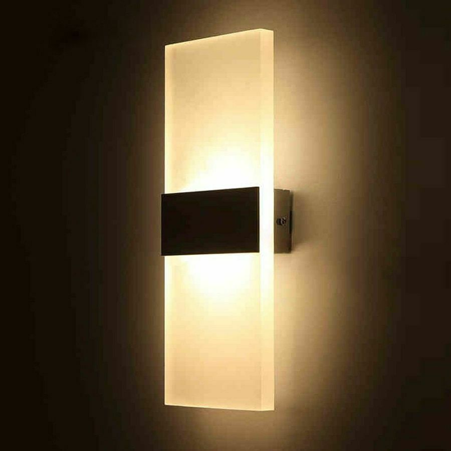 Details about Bedroom Wall Lamps Modern Led Light Bulb Living Room Warm  Night Lighting Elegant