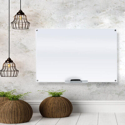 Glass Dry Erase Board Whiteboard For Office And Home 23 58 X 35 12 Inches