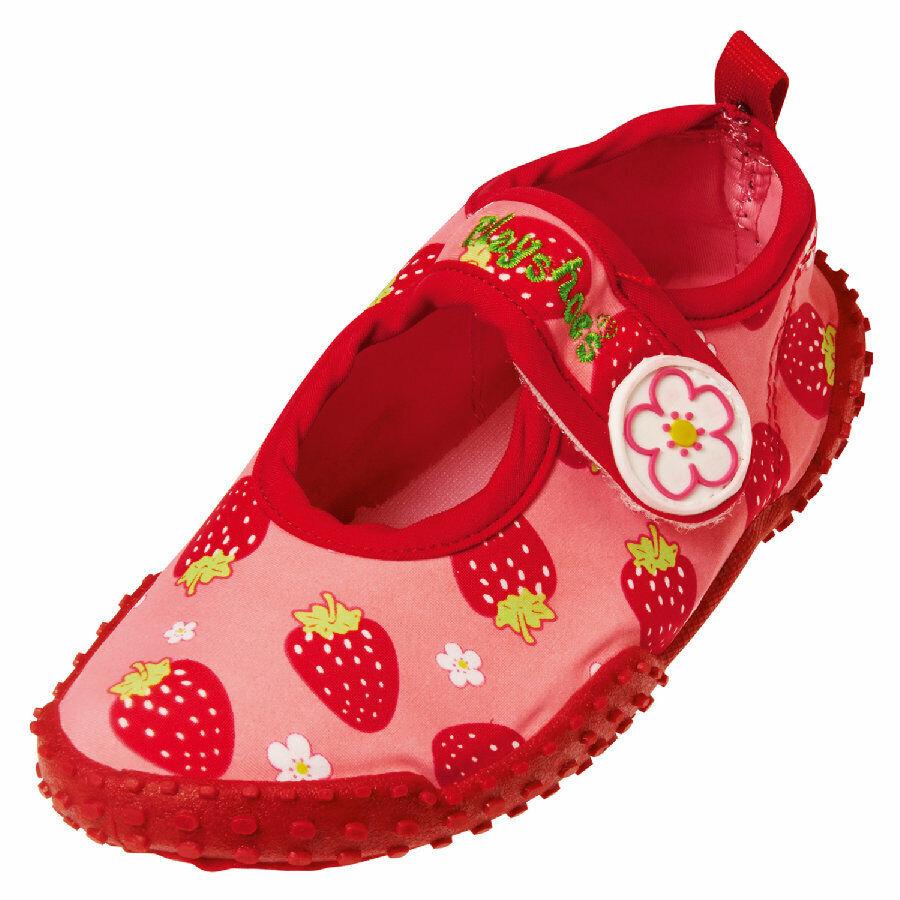 Playshoes Wasserschuhe Badeschuhe UV-Schutz Aqua-Schuhe Erdbeeren