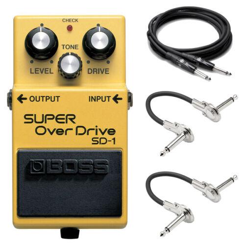 New Boss SD-1 Super Overdrive Guitar Effects Pedal