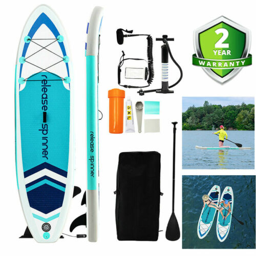 """Premium 10FT Hydro-Force Inflatable Stand Up Paddle Board SUP Surfboard 6"""" Thick"""