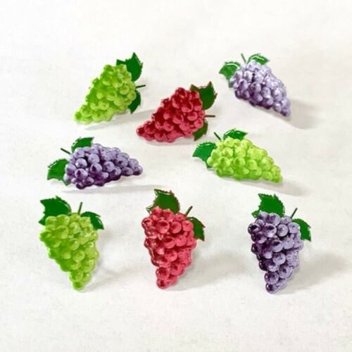 GRAPE  BRADS ** SNACK, FRUIT, 3 COLORS