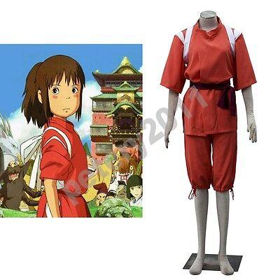 Spirited Away Uniform Anime Halloween Japan Chihiro Ogino Cosplay Costume](Spirited Away Halloween Costume)