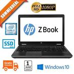 HP Zbook 15 G2 Ci7 4810QM 256GB SSD 16GB K2100M 15,6 IPS FHD