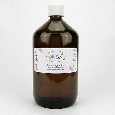 (30,90/L) Sala Blutorangenöl naturreines ätherisches Blutorange Öl 1 L 1000 ml (L ätherisches öl)