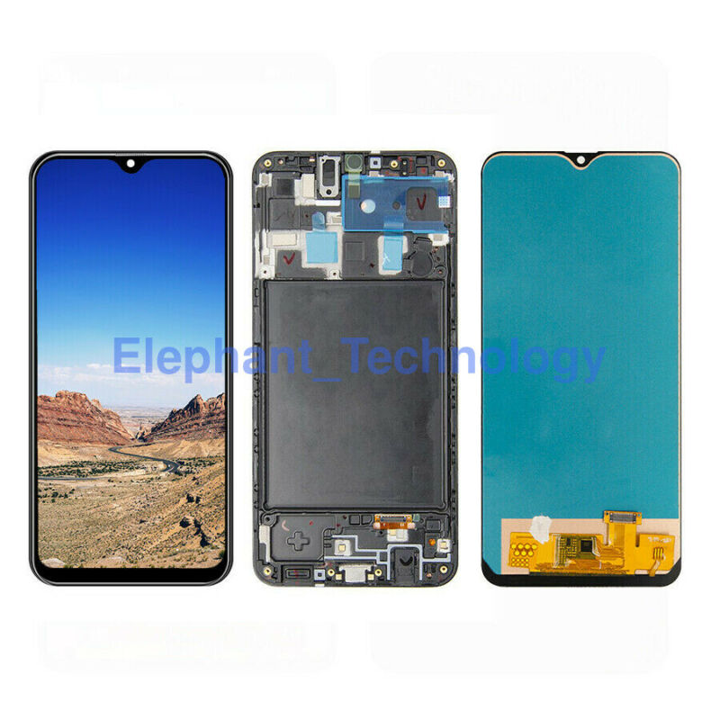 For Samsung Galaxy A20 SM-A205U A205F A205G LCD Touch Screen Digitizer ±Frame QC