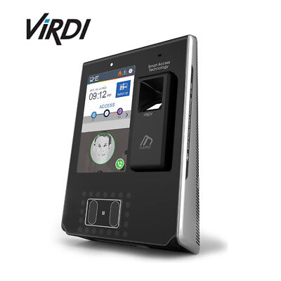 ViRDI AC-7000 High performance Face & Fingerprint Recognition Terminal
