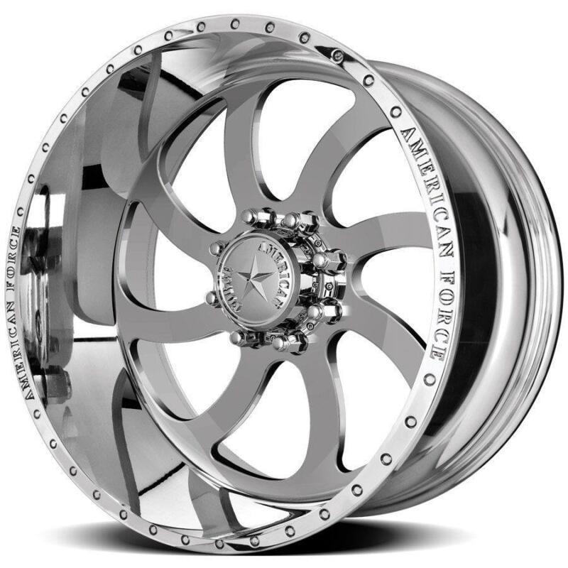 22 Inch 22x12 American Force Blade Ss  Polished Wheel Rim 8x6.5 8x165.1 -40