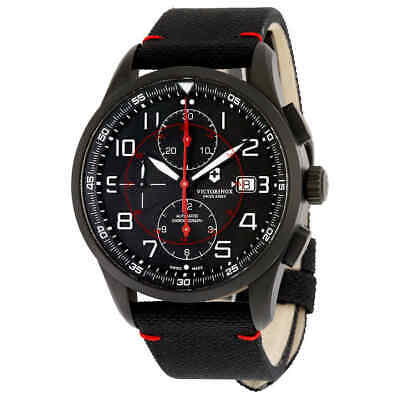 Victorinox Airboss Black Edition Automatic Chronograph Men's Watch 241721