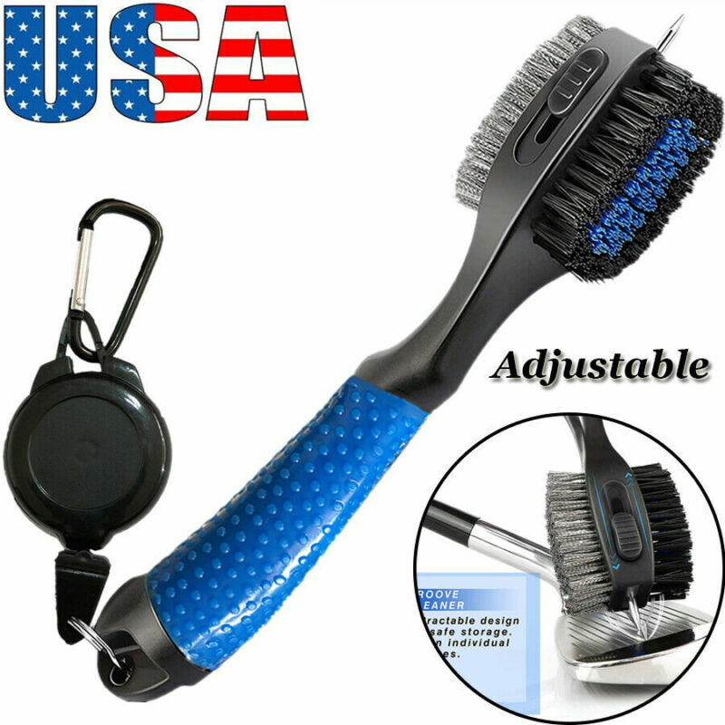 Golf Club Cleaning Brush Double Sided Wedge Putter Golf Cleaner Accessories 1 Pc