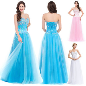 Long-Beaded-Wedding-Evening-Dresses-Bridesmaid-Formal-Prom-Homecoming-Ball-Gowns