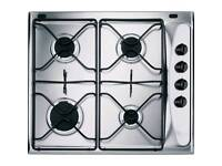 Whirlpool gas hob 60cm brand new (ONLY ONE PAN STAND)