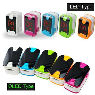 Ledoled Fingertip Pulse Oximeter Blood Oxygen Spo2 Heart Rate O2 Monitor Fda Ce