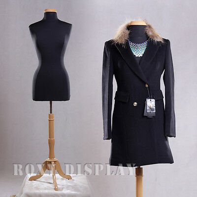 Female Size 10-12 Mannequin Manequin Manikin Dress Form F1012bkbs-01nx