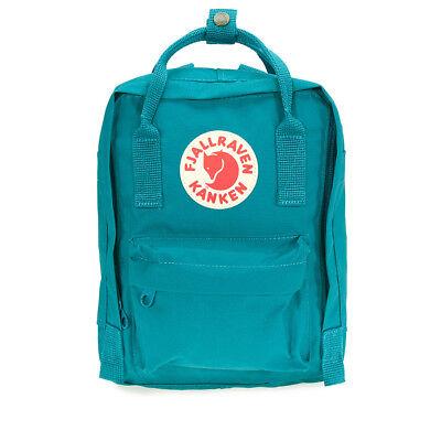 Fjallraven Kanken Mini Vinylon Backpack - Ocean Green