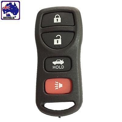 Nissan Car 4 Button Key Case Keyless Entry Remote Clicker Control VKEYR 7846