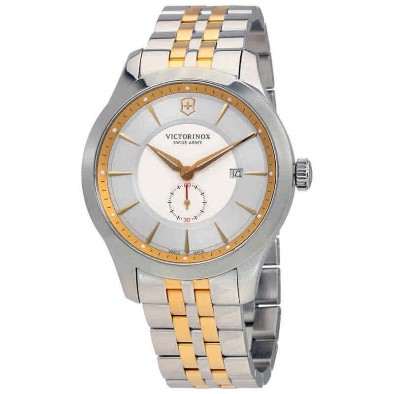 Victorinox-Alliance-Grey-Dial-Two-tone-Men-Watch-241764