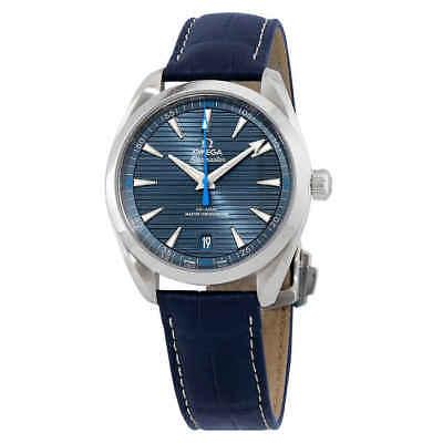 Omega Seamaster Aqua Terra Co-Axial Chronometer Automatic Blue Dial Men's