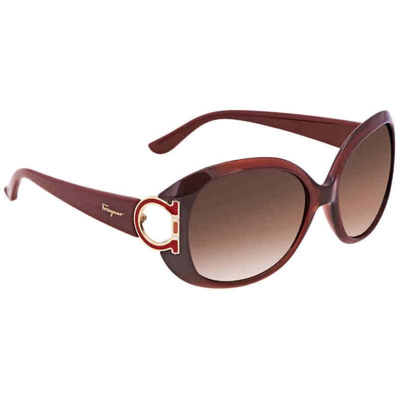 Ferragamo-Brown-Gradient-Oval-Sunglasses-SF668-224-57-SF668-224-57