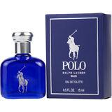 Ralph Lauren Polo Blue Men .5 / 0.5 oz 15 ml EDT Mini Travel Cologne Splash NIB