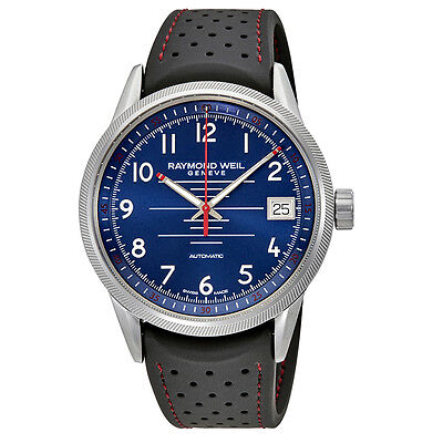 Raymond Weil Freelancer Automatic Blue Dial Mens Watch 2754-SR-05500