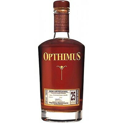 Rum Rhum Ron Opthimus 25 anni 70 cl 38 % vol. Rep. Dominicana