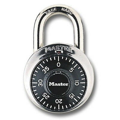 Master Dial Combination Lock Nib Blue Green Black 1525 Padlock School Locker A