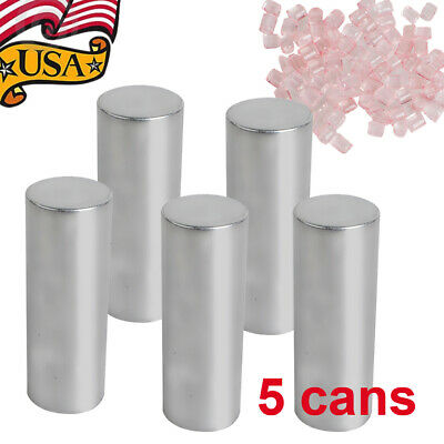 5 Cans Dental Acrylic Denture Invisible Glue With Blood Streak Good Elasticity