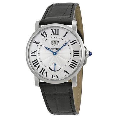 Relógio de Luxo Cartier Rotonde Calendar Power Reserve para homem, modelo W1556369