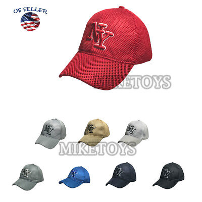 Men Women New York Baseball Cap Washed Mesh Embroidered Relaxed Hat Summer cool.](Cool Baseball Hats)