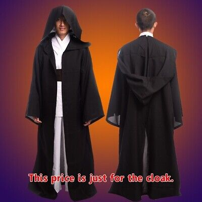 Star Wars Cosplay Robe Sith Anakin Cloak Skywalker Darth Vader Maul Cape Party