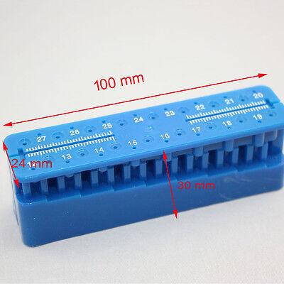 1 Piece New Endo Block Files Measuring Tools Accessory Endodontic Ruler