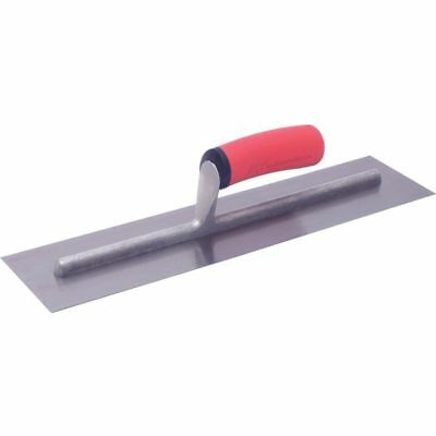 Marshalltown Ft144 14 X 4 Finishing Trowel Wsoft Grip Handle