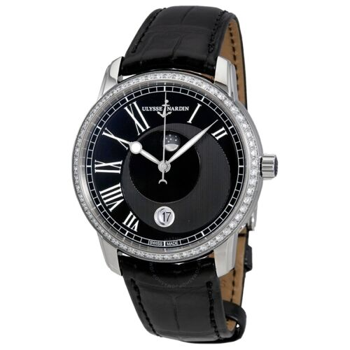 Ulysse Nardin Classico Luna Diamond Bezel 40mm watch.$14200 - watch picture 1