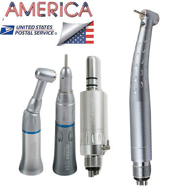 Optional Dental Fast High Speed Led Handpiece Slow Speed Handpiece Air Motor 4h