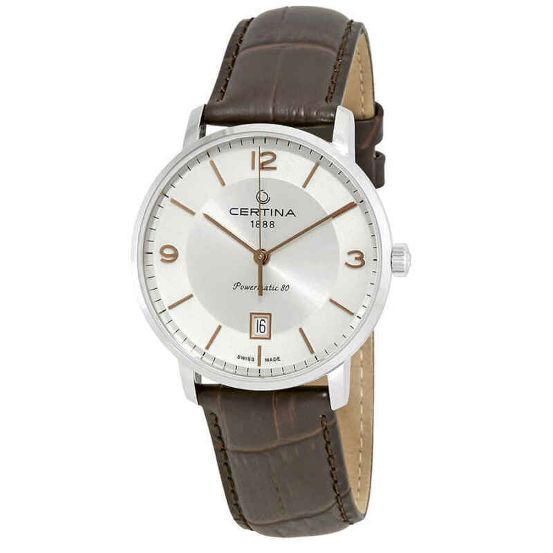 Certina DS Caimano Automatic Silver Dial Men Watch C035.407.16.037.01