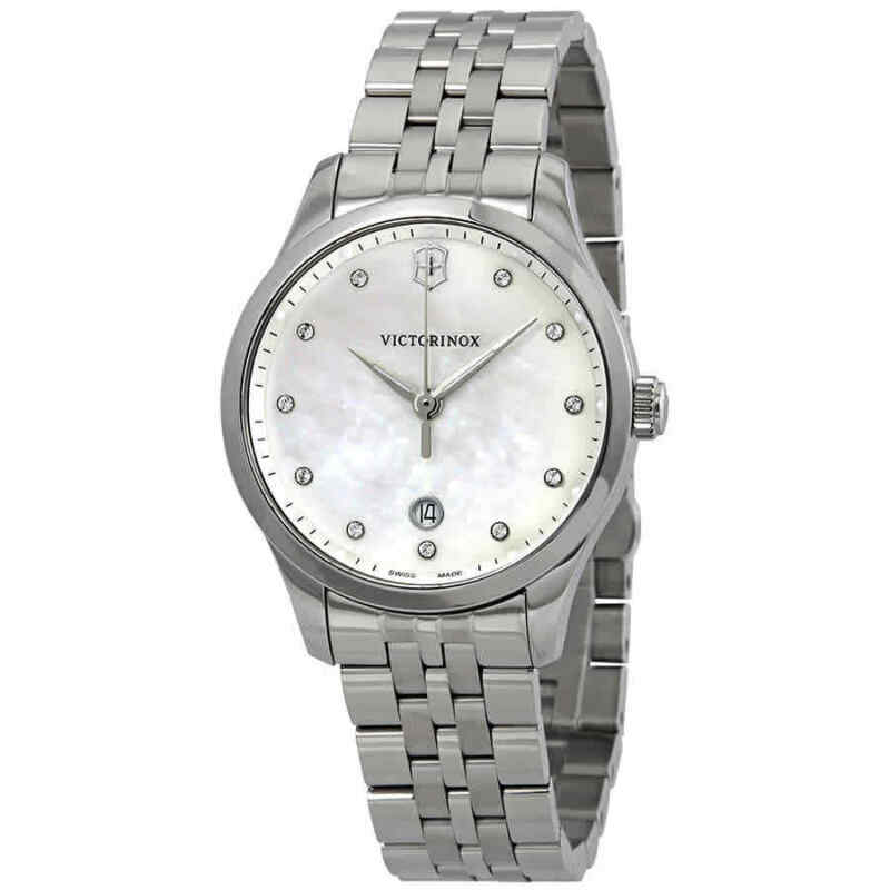 Victorinox-Alliance-Small-Crystal-White-MOP-Dial-Ladies-Watch-241830