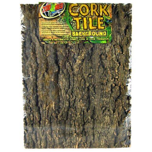Zoo Med Natural Cork Tile Background for terrarium/vivarium 5 sizes available