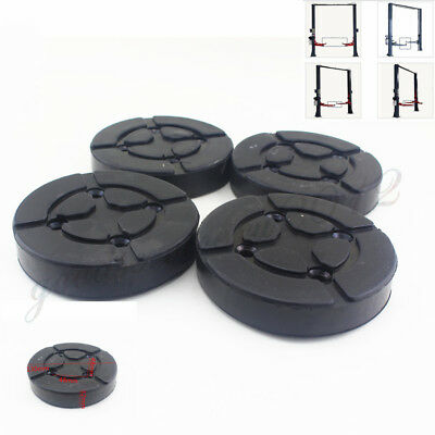 4 Pcs Heavy Duty Rubber Arm Pads 130mm Round Lift Accessories For Car SUV Hoist
